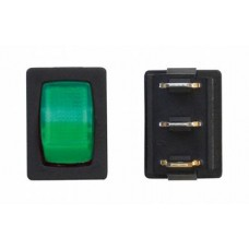 Green On/Off Toggle Switch
